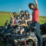 people taking selfie on a quad tour in Istria